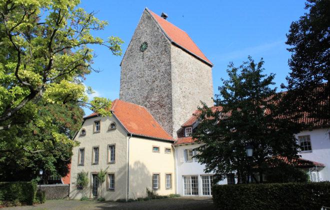 Der Turm der Burg Wittlage