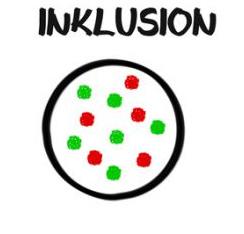 Bildliche Darstellung von Inklusion