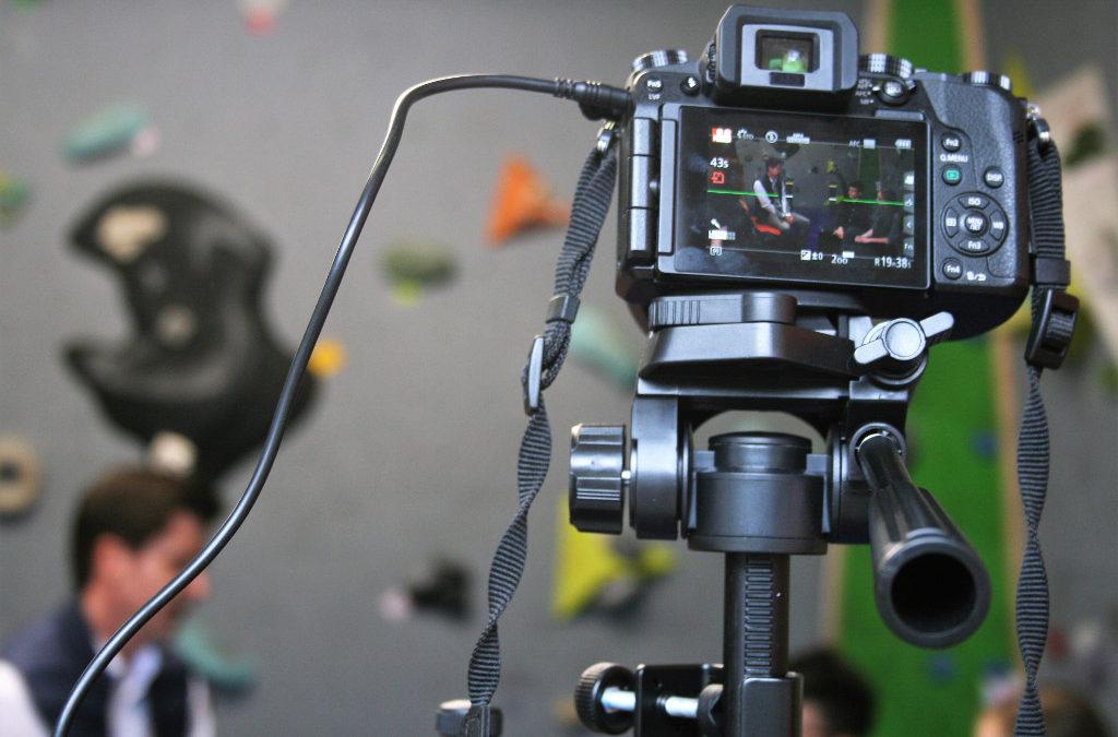 Detailaufnahme einer Kamera