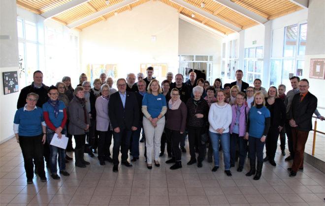 Gruppenfoto zum Ehrenamtstag
