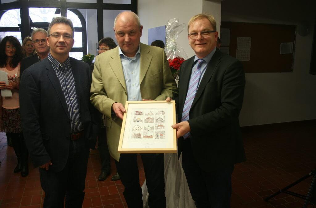Tim Ellmer, Heinrich Mackensen und Klaus Goedejohann