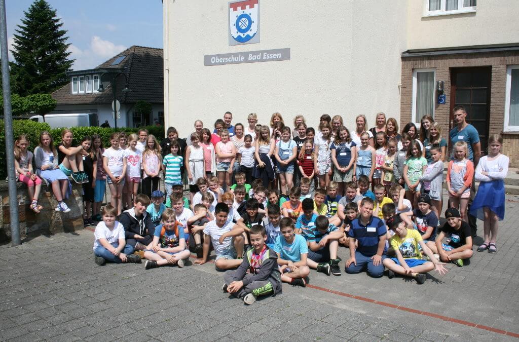 Gruppenfoto der Oberschule Bad Essen