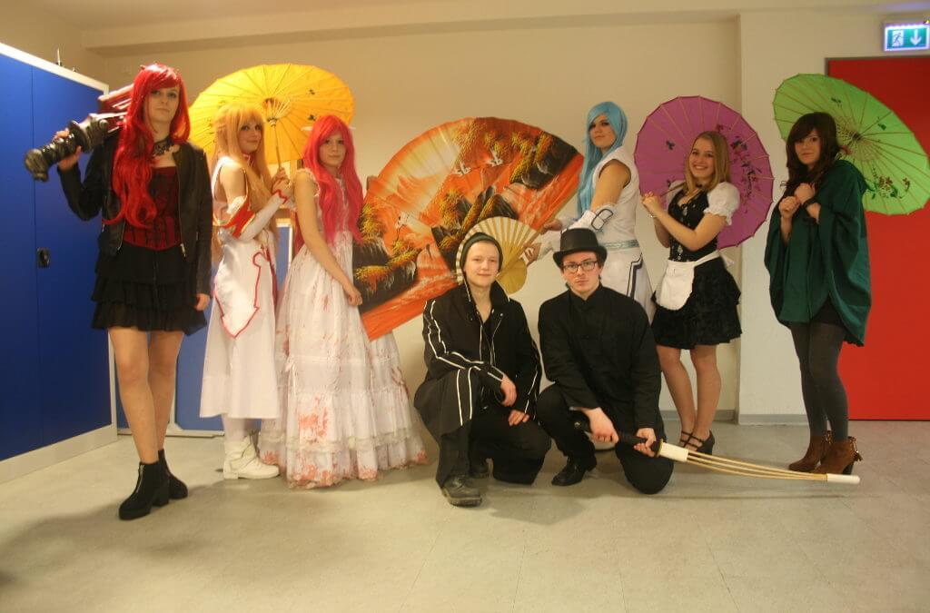 Gruppenfoto vomn Rollenspielern