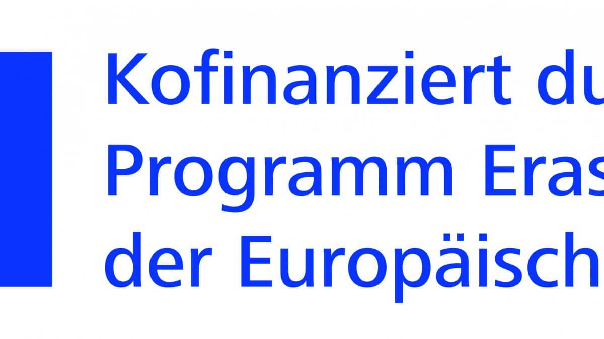 Konfinanziert durch das Programm Ersasmus+ Logo